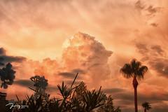 Monsoon Sunset (KDuryee) Tags: monsoon thunderhead cumulonimbus arizona arizonamonsoon