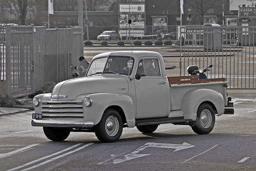 Chevrolet Stepside Pick-Up Truck 1951 (6226)