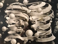 Escher Exhibition, ArtScience Museum, Singapore (December 2016) (OzMark17) Tags: singapore escher