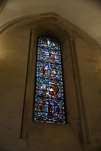 Stainglass Window, Temple Church, Knights Templars, City of London, London (2)
