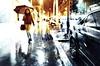 Rainy evening. Soir de pluie. (Chris, photographe de Nice (French Riviera)) Tags: streetphotography photographiederue artmoderne artcontemporain contemporaryart modernart rain pluie city ville urban