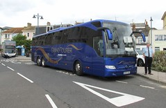 BF16XOS, Teignmouth, 04/09/16 (aecregent) Tags: teignmouth 040916 shearings grandtourer mercedes tourismo 832 bf16xos