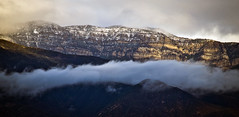 Snow on the TopaTopa Mountains (Nathan Wickstrum) Tags: topatopa mountains ojai snow nathan wickstrum