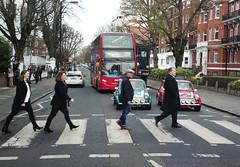 Abbey Road (p3cks57) Tags: abbey road beatles red bus london mini cooper italian job street uk england nw8