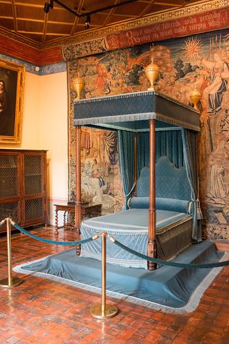 Chambre de Diane de Poitiers au Château de Chenonceau