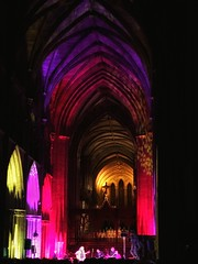 'A Cathedral Gently Rocks'      (see description) (Milesofgadgets ) Tags: 6s plus iphone6splus worcestercathedral jethrotull jethrotullliveatworcestercathedral medievalarchitecture ukcathedrals medieval architecture cathedral worcester iphone peter miles petermiles petermiles