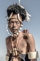 UMD05107-3 (gregoryallyawarjri) Tags: portrait man adult tribal tribe culture nagaland northeastindia