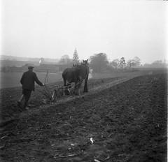 img265 (foundin_a_attic) Tags: farmor plough field hourse house houses trees
