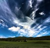 Cloud Formation_stitch (le Brooklands) Tags: blue clouds d7000 green nuages scenicroad sigma1224mm stitch sutton white