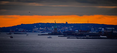 Sunset view of Statue of Liberty from Whitney Museum of American Art - New York City NY (mbell1975) Tags: newyork unitedstates us sunset view statue liberty from whitney museum american art new york city ny nyc manhattan usa america