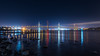 Forth Road Bridge.jpg (___INFINITY___) Tags: 6d bridge river architect architecture canon darrenwright dazza1040 eos forthroadbridge infinity light longexposure night reflection scotland stars blue