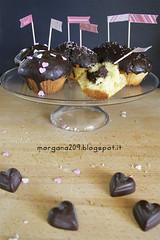 MuffinSanValentino_005w (Morgana209) Tags: love sanvalentino amore muffin cioccolato nutella yogurt facili veloci innamorati cuore tag flag handmade cucinareconamore heart 14febbraio fattoamano donospeciale