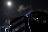 Full Moon on the Lake State (Ryan J Gaynor) Tags: dramatic fullmoon lakestaterailway lsrc alpena michigan train locomotive railway night backlighting yard shortline