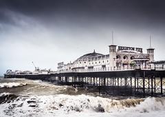 Storm Doris 8/52 (amipal) Tags: 175mm architecture beach brighton city doris england gb greatbritain manuallens palacepier pier sea sky storm sussex uk unitedkingdom voigtlander water photo52 photoaweek