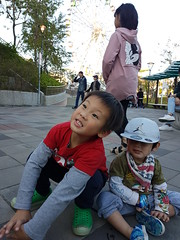 2017.1.1 兒童樂園 (amydon531) Tags: 臺北 兒童新樂園 taipei childrens amusement park 兒童樂園 baby boys kids brothers justin jarvis family toddler cute