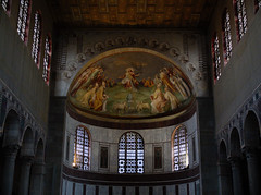 1621 - Santa Sabina (Diego Rosato) Tags: santa sabina affresco fresco cupola dome chiesa church finestre windows fuji x30 rawtherapee
