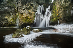 Cold waterfall (cedric.chiodini) Tags: waterfall cascade water eau cold froid tinedeconflens latinedeconflens le longexposure poselongue