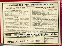 img560 (foundin_a_attic) Tags: glass plate box negtive developers for imperial plates dry cricklewood london special rapid