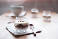 Yoghurt and muesli (Obiettivo Food) Tags: food photography yogurt muesli breakfast obiettivo