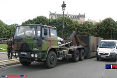 BDQJ09-4248 RENAULT G290 VTL (milinme.myjpo) Tags: frencharmy renault g290 vtl véhicule de transport logistique remorque rm19 trailer bastilleday