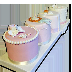 Wedding Mini Cakes