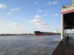 New Orleans: from the Algiers ferry (shermaniac) Tags: boats louisiana neworleansla mississippiriver