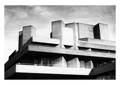 national theatre, london | 2017 (handheld-films) Tags: london architecture nationaltheatre southbank brutalism modernism concrete lasdun architectural abstract geometrical geometry mono blackandwhite theatres monochrome buildings modern iconic famous