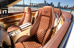 Exclusive Motoring Bentley Continental (Exclusive Motoring) Tags: auto car miami interior wheels continental kahn custom exclusive doral bentley motoring supersports