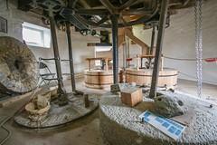 Holgate Windmill stones floor, July 2015 - 2