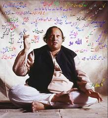 Nusrat Fateh Ali Khan (Farooq Raz) Tags: lyrics poetry fateh ali khan hoo legend allah nusrat nfak