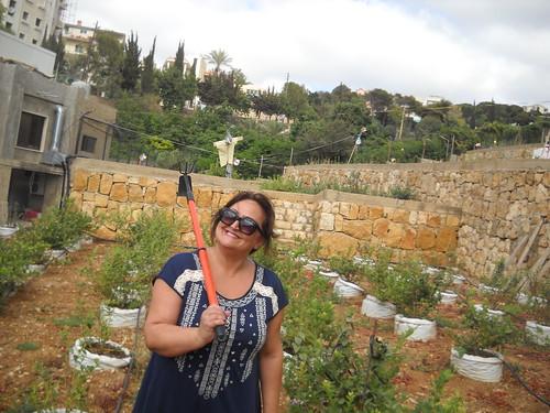 Nada picking Berries aa Jul 31, 2014