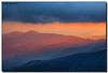 Fiery Sunset Glow (Fraggle Red) Tags: trees sunset summer mountains clouds evening nationalpark northcarolina hills smokies hdr smokymountains clingmansdome greatsmokymountains greatsmokymountainsnationalpark highestpoint canonef24105mmf4lisusm 7exp 6643feet dphdr canoneos5dmarkiii 5d3 5diii adobephotoshopcs6 adobelightroom5