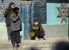 Sufis on the Corner, Kabul, Afghanistan