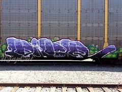 (UTap0ut) Tags: california ca art cali train bench graffiti paint rail cal graff freight utapout