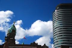 A day in Rotterdam (neil mp) Tags: holland netherlands rotterdam europe normanfoster hotelnewyork fosterpartners worldportcentre