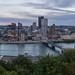 Pittsburgh Skyline at Sunset 05