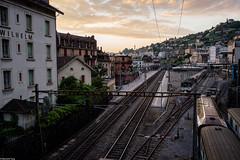 (千木成林) Tags: station switzerland sony montreux rx1