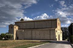 Santa Maria a Pi di Chienti (Bluesky71) Tags: church chiesa romanesque marche romanic montecosaro bellitalia santamariaapidichienti