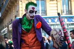 Zombie Walk (dprezat) Tags: street people paris dead living blood nikon walk brains batman joker romero zombies sang marche d800 2015 cerveau walkingdead zombiewalk mortvivant nikond800 hmoglobine