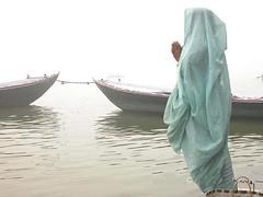 Morning Prayer at the Ganges - Varanasi, India, The Ghats