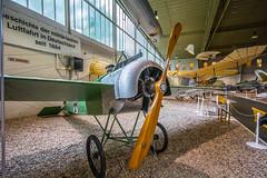 Fokker E.III Eindecker (A.Nilssen Photography) Tags: world max berlin green museum plane germany airplane deutschland 1 war fighter aircraft aviation wwi e3 ww1 warbird scourge fokker spandau eiii monoplane gatow luftwaffenmuseum immelmann eindecker