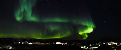 Northen Lights Above Nuuk