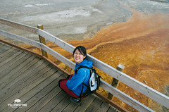 Look at the mess you done! (L.F.Lee) Tags: travel nationalpark pentax roadtrip yellowstonenationalpark yellowstone wyoming geyser westthumb