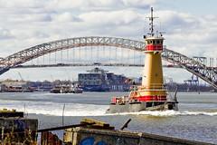 r_151123265_skelsisl_a (Mitch Waxman) Tags: newyorkcity newyork tugboat statenisland newyorkharbor bayonnebridge killvankull reinauer johnskelson