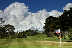 Maungakiekie Clould Tsunami (MarkMeredith) Tags: new weather sport clouds golf course auckland zealandmaungakiekie