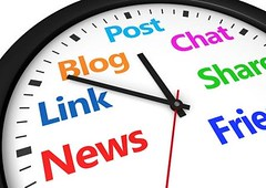 Social Media Time Management (WebGenii) Tags: clock sign illustration digital work word marketing blog community friend media chat message post symbol time web text working content social icon socialnetwork business management website hour online link sharing multiple networking network productivity concept account date manager share strategy task strategies socialmedia manage socialmediacourse