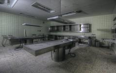 Hospital B. (Městský průzkum) Tags: morgue urbex abandoned hospital decay death creepy lost place places exploration opusteny canon hdr