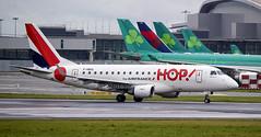 F-HBXL | HOP! | Embraer ERJ-170LR(170-10LR) | 17000009 | Built 2004 | EIDW 21/11/2016