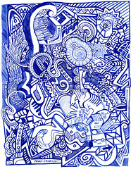 dibujo a lapicero (ivanutrera) Tags: draw dibujo drawing dibujoalapicero boligrafo lapicero pen sketch sketching dibujoaboligrafo
