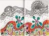 Doodle 113 (kraai65) Tags: doodle zendoodle zentangle colourdoodle drawing